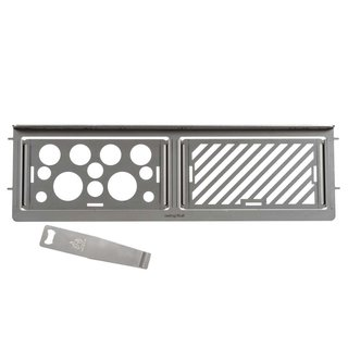 Modulares Rost System Napoleon Gasgrill Rogue425 Warmhalterost Feuerstelle Grill
